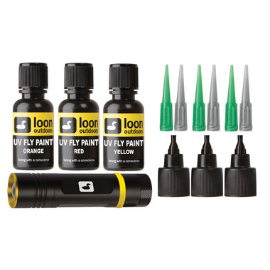 Loon Outdoors, UV Curing Fly Tying Paint Kit