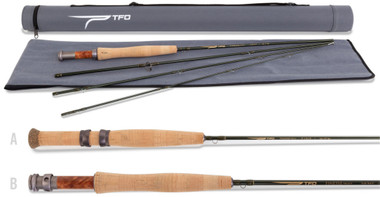 Temple Fork Outfitters TFO Finesse Trout Series Fly Fishing Rods