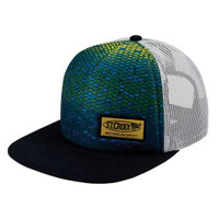 "St. Croix Rods ""Apex"" Fish Scale Flat Bill Fishing Cap"