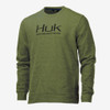 Huk Men's Hull Crew Fleece Performance Sweatshirt H1300031