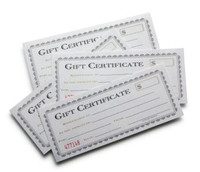 Swanson's Gift Certificate