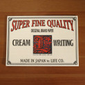 LIFE Cream Writing Paper L309