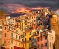 Manarola Homes by Artist McKenzie
