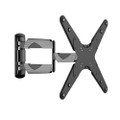 "FULL MOTION LCD LED TV WALL MOUNT TILT SWIVEL BRACKET 32- 55"" TVs CURVED TVs OK (IM986)"