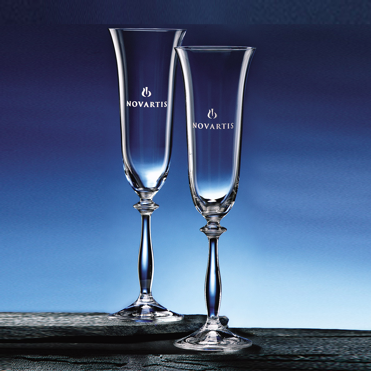 Wine Glasses and Toasting Flutes