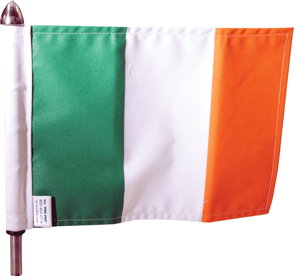 "6"" x 9"" Flag on 9"" Pole; #POLE-9-IRISH $18.95"