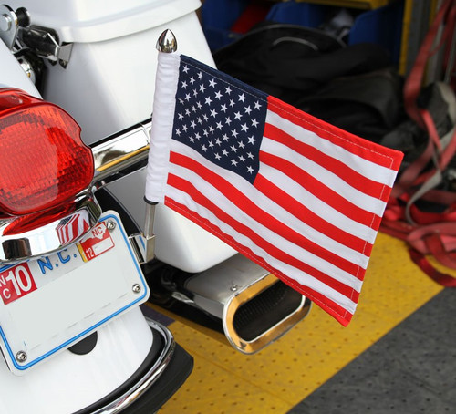 License Plate Flag Mount