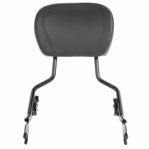 Detachable Black Backrest Sissy Bar for 2009+ HD Touring