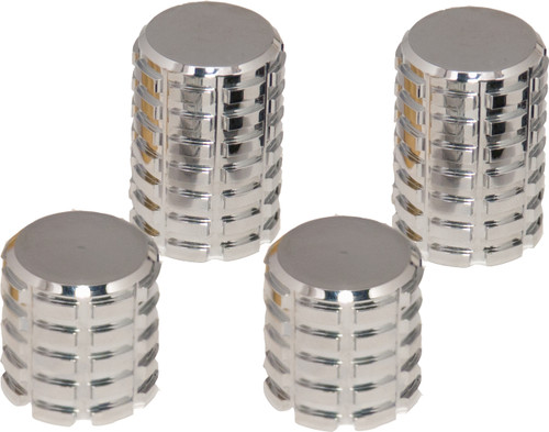 Billet Docking Station Cap - Chrome