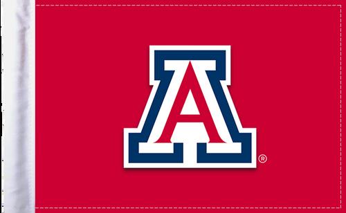 """Arizona Wildcats 6""""x9"""" Motorcycle Flag"""