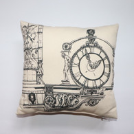 Kirsten Lowe-Rebel Kaufmann's Clock Pillow