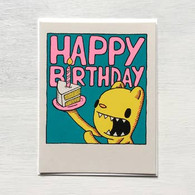 Everyday Balloons Cake Birthday Card