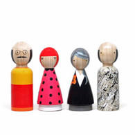 The Modern Artists II Wooden Dolls