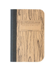 Pocket Decomposition Book, Woodgrain