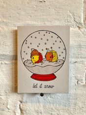 Everyday Balloons Let It Snow Card