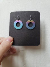 Bruce Senchesen Small Circle Earrings