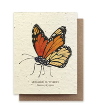 Plantable Seed Card: Monarch Butterfly