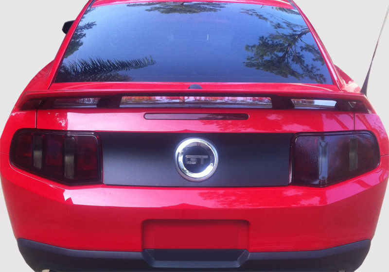 2010 2012 Mustang Tail Light Vinyl Overlays Subject 9