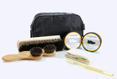 The Vertico Deluxe Shoe Shone Kit is the perfect kit for LDS missionaries. Polish, waterproofing mink oil and much more all in a compact carrying case.