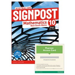 Australian Signpost Mathematics New South Wales 10 (5.1-5.2) Student Book/eBook 3.0 Combo Pack