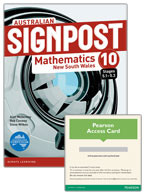 Australian Signpost Mathematics New South Wales 10 (5.1-5.3) Student Book/eBook 3.0 Combo Pack