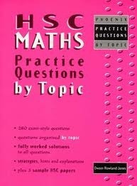 HSC Maths Practice Questions by Topic