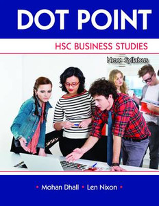 Dot Point HSC Business Studies