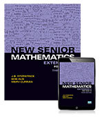 New Senior Mathematics Extension 2 For Year 12