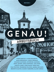 Genau Workbook (Inc Audio CD/DVD) (3E)