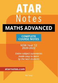 ATAR NOTES HSC Mathematics Complete Course Notes
