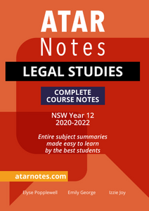 ATARNOTES HSC Legal Studies Complete Course Notes