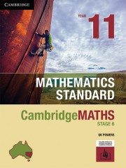 Cambridge Maths NSW Standard Yr 11 (Print & Digital)