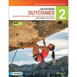 Jacaranda Outcomes 2 HSC PDHPE (Print, Ebook, StudyON)
