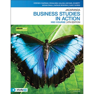Business Studies in Action HSC - 6th Ed. Print + eBook +STUDYON
