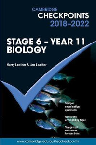 Cambridge Checkpoints 2018-2022 Biology Yr 11