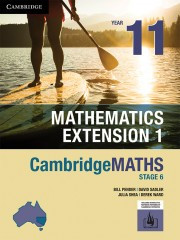 Cambridge Maths NSW Extension 1 Year 11