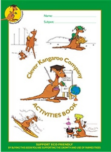 Clever Kangaroo Activities Scrap Book