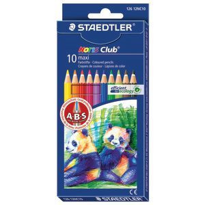 Pencils Coloured Noris Maxi Learners PK10