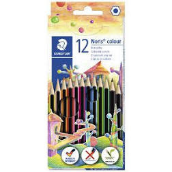 Pencils Coloured Noris Club Pk12