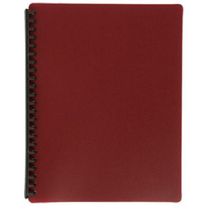 Display Book A4 Maroon