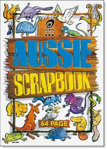 Scrapbook 64pg Aussie Animals