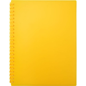 Display Book A4 20 Pocket Golden Yellow