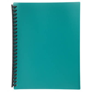 Display Book A4 20 Pocket Gloss Green