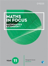 Maths in Focus Mathematics Extension 1 Yr 11 (Print &Digital)