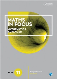 Maths in Focus Mathematics Advanced Yr 11 (Print and Digital)