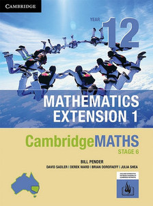 Cambridge Maths NSW Extension1 YR 12