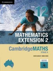 Cambridge Maths NSW Extension 2 YR 12