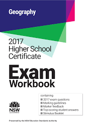 NESA 2017 Geography HSC Exam Workbook