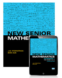 New Senior Mathematics Extension 1 for Years 11 & 12 3rd Ed