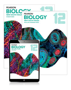 Pearson Biology Year 12 Student Book/E-book/Assessment Book